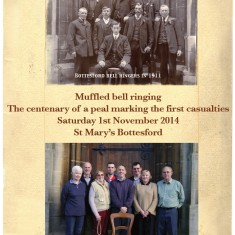 Bottesford Tower Muffled Bell Peal Centenary