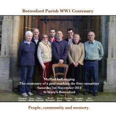 Bottesford Tower Muffled Peal Centenary: 2014 Ringers