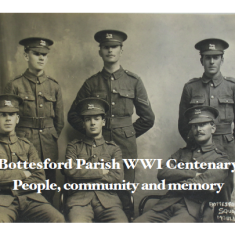 Invitation to WW1 Centenary Launch