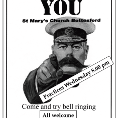 Bottesford Tower Recruitment: Muffled Bell Peal Centenary