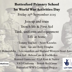 School WW1 Activities Day - 25th September 2015 | BCHG