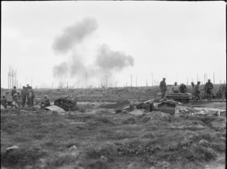 27 September 1917 Sanctuary Wood in the Ypres sector, Belgium.   Australian War Memorial