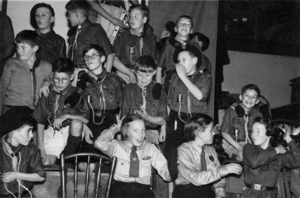 Scouts and Guides rehearsal