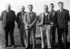 Six village men