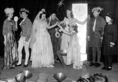 Guides theatre production of Cinderella, in the chapel schoolroom