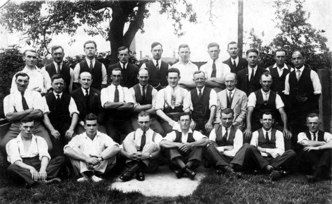 British Legion members in Bottesford
