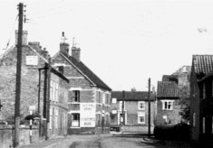 from a postcard of High Street, Bottesford