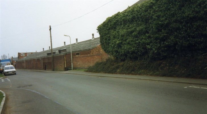 Snap shot of the Bullock and Driffil works flanking Barkestone Lane