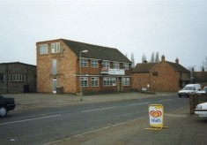 Snap shot of the former Bullock and Driffil office on the High Street. Originally W. J. Roberts Builders.