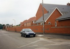 Snap shot of the new housing on the former Bullock and Driffil site