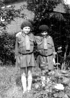 Brownies, Dorothy Beedham and Joyce Hart