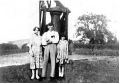 Family at Muston Gorse Wharf