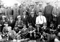 Bottesford Angling Association group picture, 1929