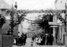 Village celebration in 1911, Chapel Street