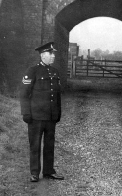 Sgt Bradshaw at Great Bowden