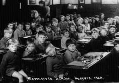 Bottesford village school infants class 1928