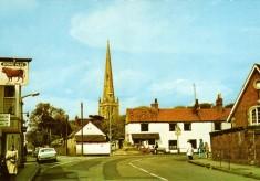 Colour postcard Market Place