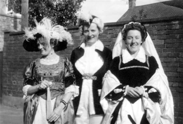 ladies retro village