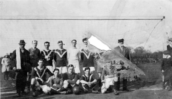 Mens football team ca.1920