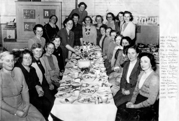 WI Dinner group with names
