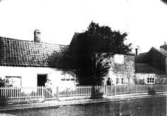 Old cottages on High Street now gone