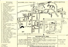 sketch map of village in 1993