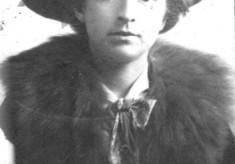 Studio portrait of Ada Bateson as a young woman
