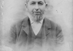 Old picture of Six Bells publican Mr Lamb