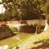 Colour postcard of Fleming's Bridge