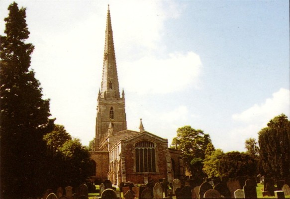 colour photo of St Marys church seen from east