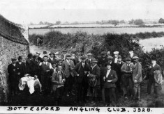 group picture Bottesford Angling Club 1928