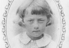 commemorative portrait of girl, Coronation Day 1937