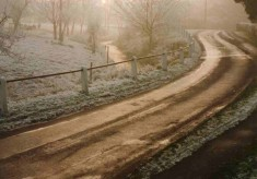 Winter scene - Devon Lane