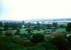 View from Holliers - south to Belvoir Castle