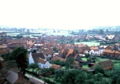 View from Holliers - Queen Street and Singleton's Farmhouse