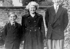 Michael, Angela and John Bradshaw in Bottesford