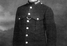 PC Arthur Ernest Bradshaw at Bottesford in 1929