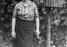 Vera Bradshaw at Bottesford ca.1950