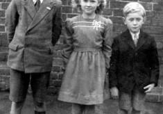 John, Angela and Michael Bradshaw