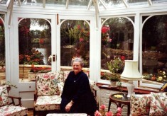 Vera Bradshaw in Easthorpe Mill House