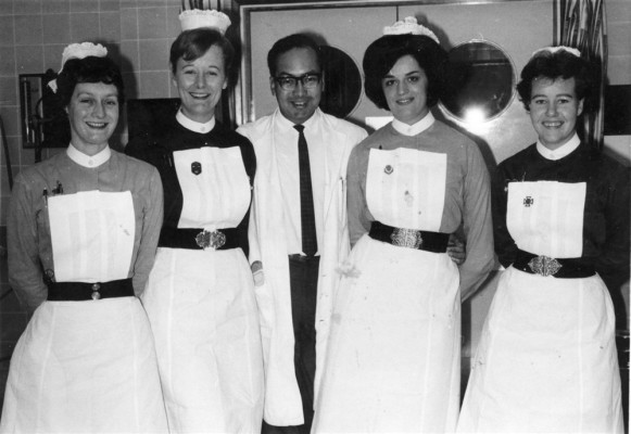 Gina Topps and other senior hospital staff