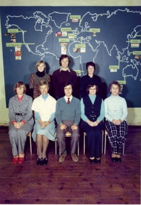 Teachers of the newly established Bottesford Secondary School 2