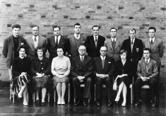 Teachers of the newly established Bottesford Secondary School 5