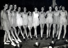 Bottesford Girl Guides dance troupe
