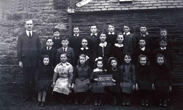 Crossmichael village school class