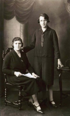 Portait of Mary and Margaret Johnstone