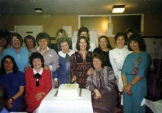 Women's social gathering