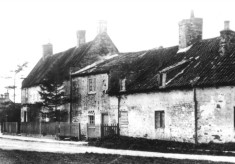 Old postcard of Corner House, Easthorpe