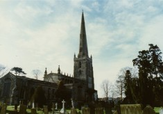Photo of Bottesford church seen from northeast