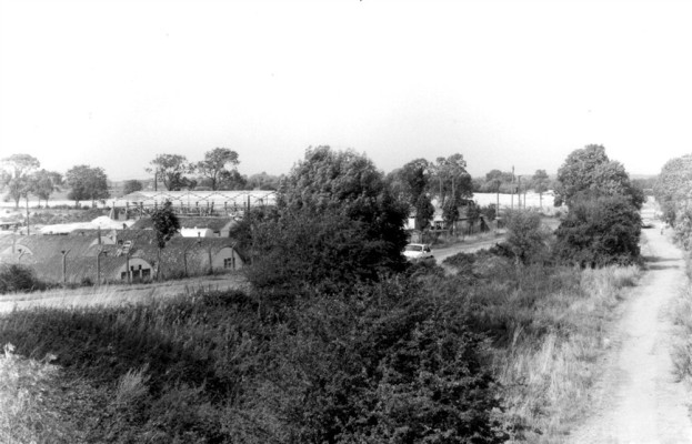 Old army camp on Orston Lane
